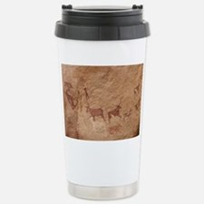 Pictograph of Lion atta Stainless Steel Travel Mug