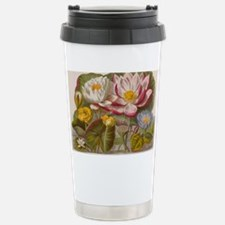 Water lily flowers, 19t Stainless Steel Travel Mug