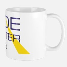 Ride Faster Purple And Gold Mug