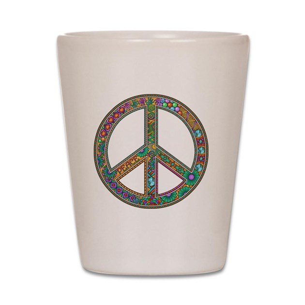 Peace Zen! Shot Glass by Admin_CP56272659