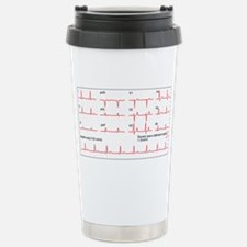 ECGs of a normal heart  Travel Mug
