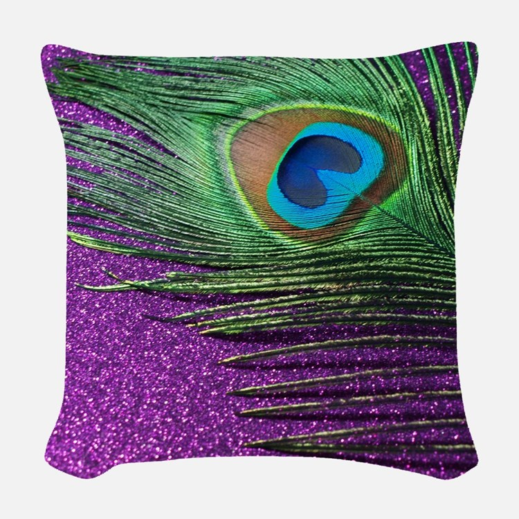 Throw Pillow Peacock : Purple Peacock Pillows, Purple Peacock Throw Pillows & Decorative Couch Pillows