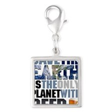 SAVE THE EARTH is the only PL Silver Square Charm