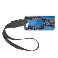 DNA replication, artwork Luggage Tag
