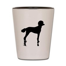Poodles Are Perfect Shot Glass