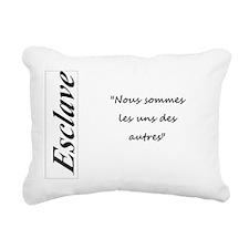 Esclave - Tears of Tess  Rectangular Canvas Pillow