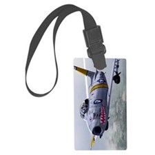 North American F-86 Sabrejet 3 Luggage Tag