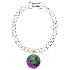 Glittery Purple Twin Bracelet