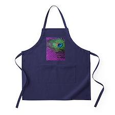 Glittery Purple Twin Apron (dark)