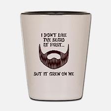 The Beard Shot Glass