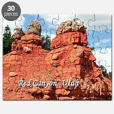 Red Canyon, Utah, USA (caption) Puzzle