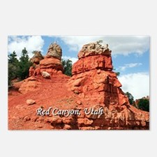 Red Canyon, Utah, USA (ca Postcards (Package of 8)