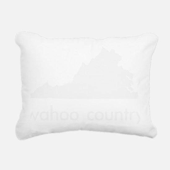 Wahoo Country Rectangular Canvas Pillow