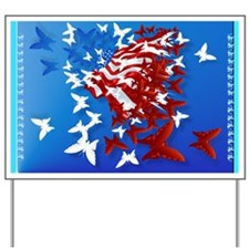 The Butterfly Flag Yard Sign