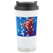 The Butterfly Flag Travel Mug