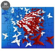 The Butterfly Flag Puzzle
