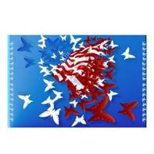 The Butterfly Flag Postcards (Package of 8)