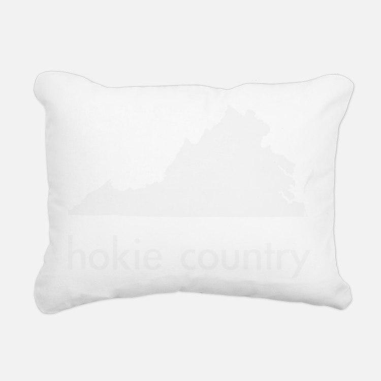 Hokies Rectangular Canvas Pillow