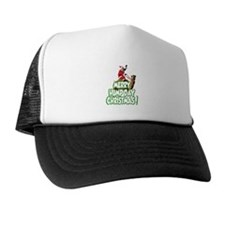 Funny Merry Hump Day Christmas Trucker Hat
