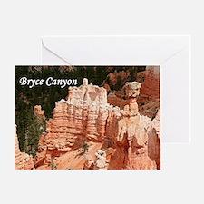 Bryce Canyon, Utah 3 (caption) Greeting Card
