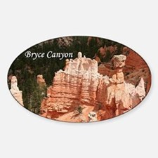 Bryce Canyon, Utah 3 (caption) Decal