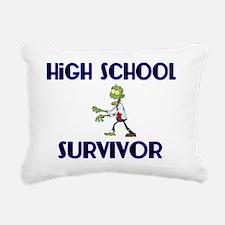 High School Survivor-Zom Rectangular Canvas Pillow