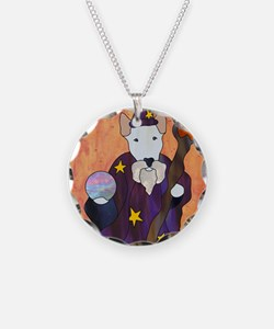 Bully Wizard Necklace Circle Charm