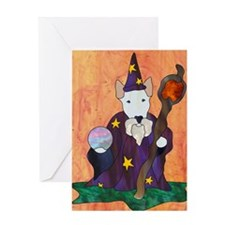 Bully Wizard Greeting Card