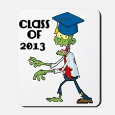 Class of 2013-Zombie with Hat Mousepad