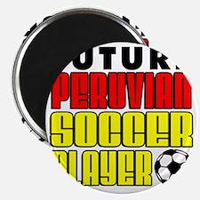Future Peruvian Soccer Player Magnet