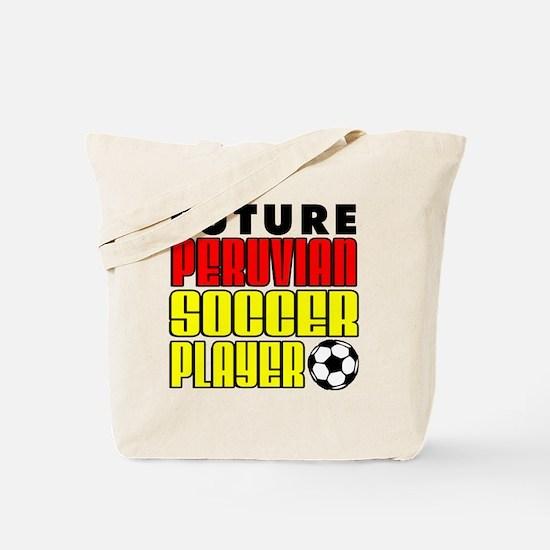 Future Peruvian Soccer Player Tote Bag