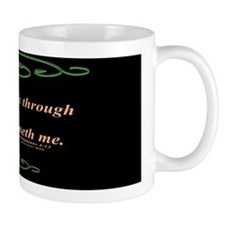 Philippians 4 13 Cross Mug