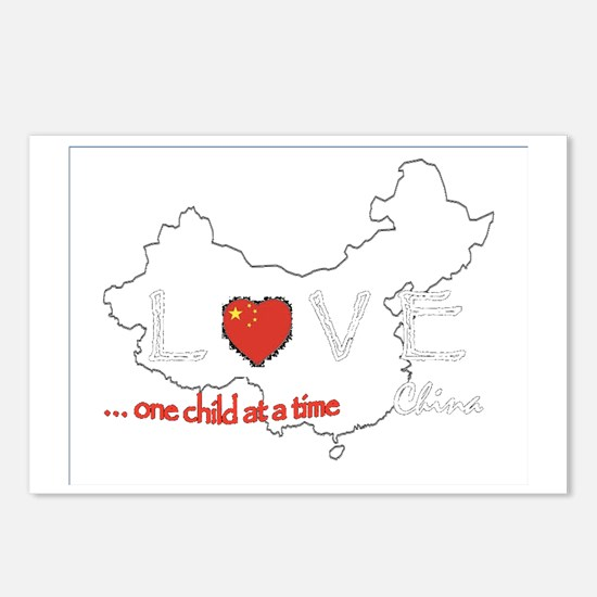 LoveChina Postcards (Package of 8)