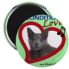 Poppy Unconditional Love - Green Magnet