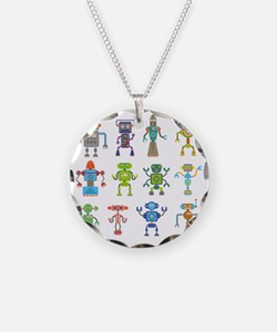 Robots by Phil Atherton Necklace
