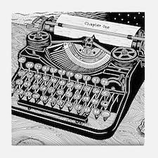 Write Time Tile Coaster