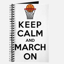 Keep Calm and March On Journal