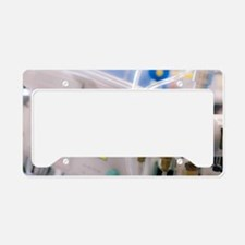 Surgical equipment License Plate Holder