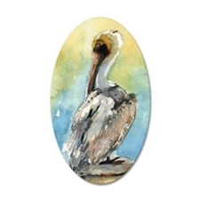 Pelican Brief Wall Decal