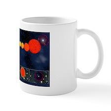 Life-cycle of the Sun, artwork Mug