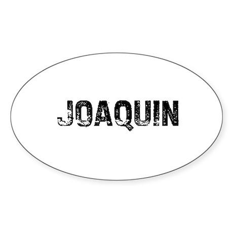 Joaquin Oval Sticker