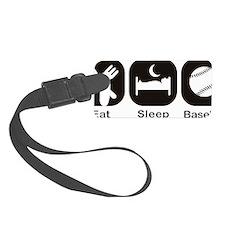 Eat, Sleep, Baseball Luggage Tag