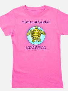 GLOBAL SEA TURTLE Girl's Tee