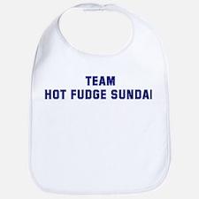 Team HOT FUDGE SUNDAE Bib