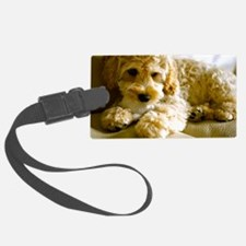 The Cockapoo Puppy Luggage Tag