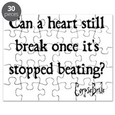 Can a heart still break once its stopped be Puzzle