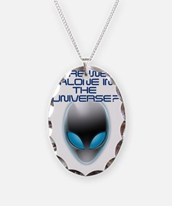 UFO Aliens Are we Alone in the Necklace