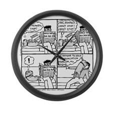 Communication Problem Large Wall Clock