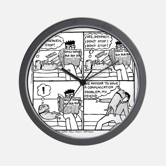 Communication Problem Wall Clock
