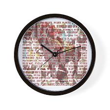Horses of the Year 1887-2012 II Wall Clock